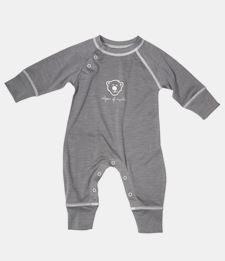 ISBJÖRN HUSKY Base Layer Baby Jumpsuit